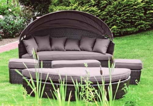 sonneninsel als loungem bel f r garten und terrasse enjoy 2018. Black Bedroom Furniture Sets. Home Design Ideas