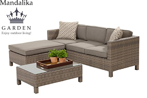 Mandalika Poly Rattan Lounge Set