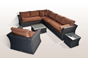 Ragnarök Lounge Garten Möbel  | Loungemöbel Polyrattan  | Loungemöbel