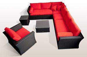 Ragnarök Polyrattan Lounge Garten Möbel  | Loungemöbel Polyrattan  | Loungemöbel
