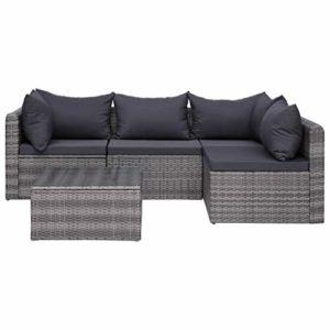 vidaXL Garten Sofgarnitur  | Garten Sofgarnitur  | Lounge-Set