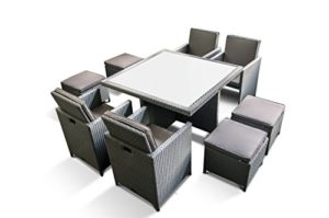 Ragnarök-Möbeldesign Polyrattan Essgruppe   | Polyrattan Essgruppe  | Garten Essgruppe