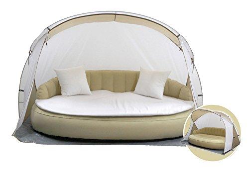 Dekovita Air-Lounge 220x130cm aufblasbares Sofa Bett Sonneninsel