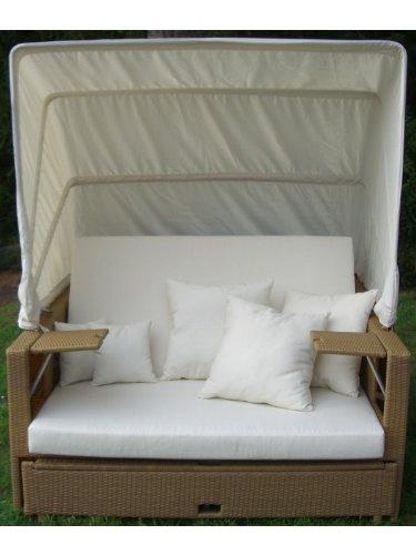 Liegeinsel Garten Beach Lounge Natur - Relaxinsel