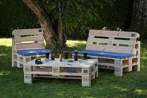 PALma Palettenmöbel Gartensitzgruppe aus hochwertigen Möbelpaletten