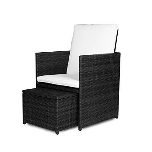 Loungemöbel Set - Vanage Stuhl mit Rücken und Armlehnen